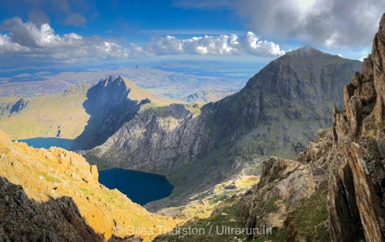 Dragons Back 2019 / Day One: Views From Crib Goch Towards Our Final Climb of Day One