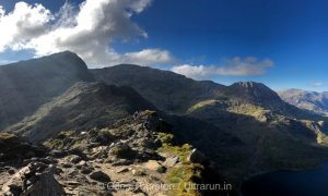 Dragons Back 2019 / Day One: View Back to Crib Goch