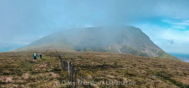 Dragons Back 2019 / Day Three: Approaching Cadair Idris