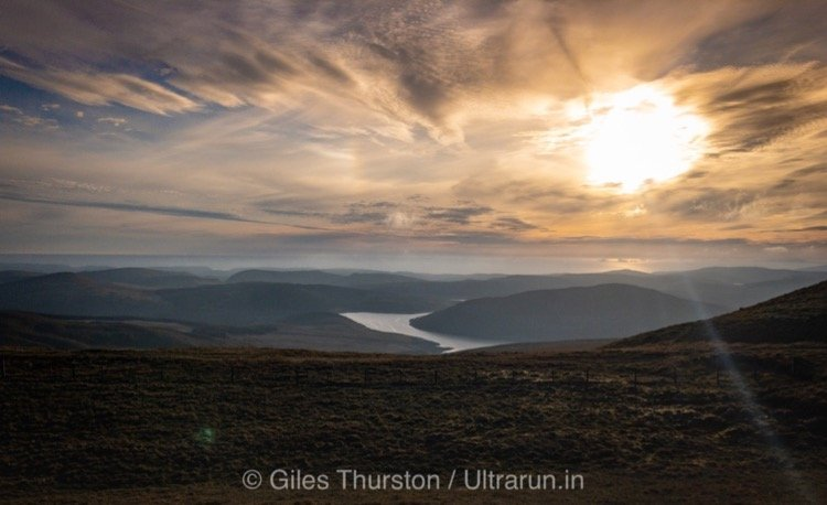 Dragons Back 2019 / Day Three: Sunset over Mid Wales
