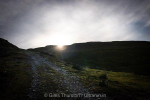 Dragons Back 2019 / Day Four: First Sight of The Sun on the Climb Out of Camp Three