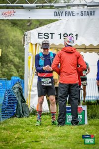 Dragons Back 2019 / Day Five: Giles At The Start of The Final Day