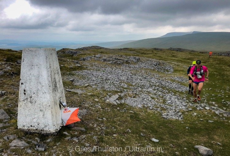 Dragons Back 2019 / Day Five: Jim Mann Approaching The Summit Checkpoint