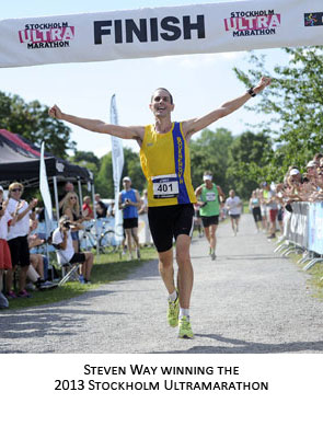 Steven Way Wins Stockholm Ultra Marathon 2013