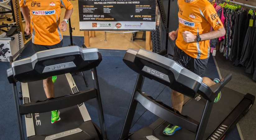 Guernsey Runners To Attempt 48 Hour Treadmill Record