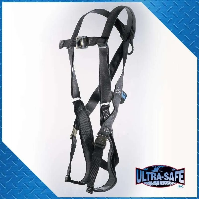 D-Ring Center Back and Front with Padded Leg Straps and Quick ...