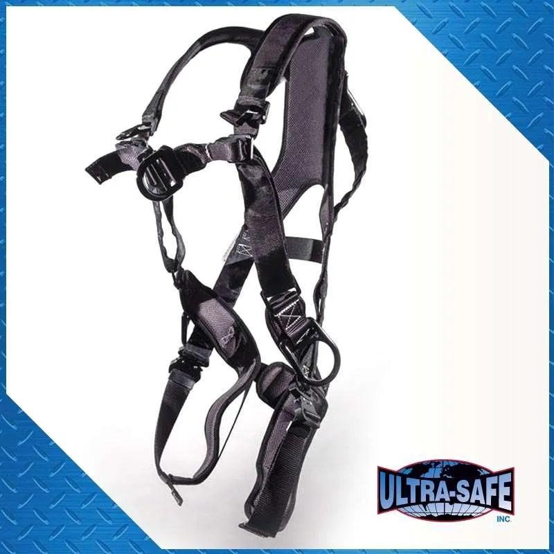 Ultra Pillow-Flex Harness, 4 D-Ring, X-Pad, Padded Legs, Quick ...