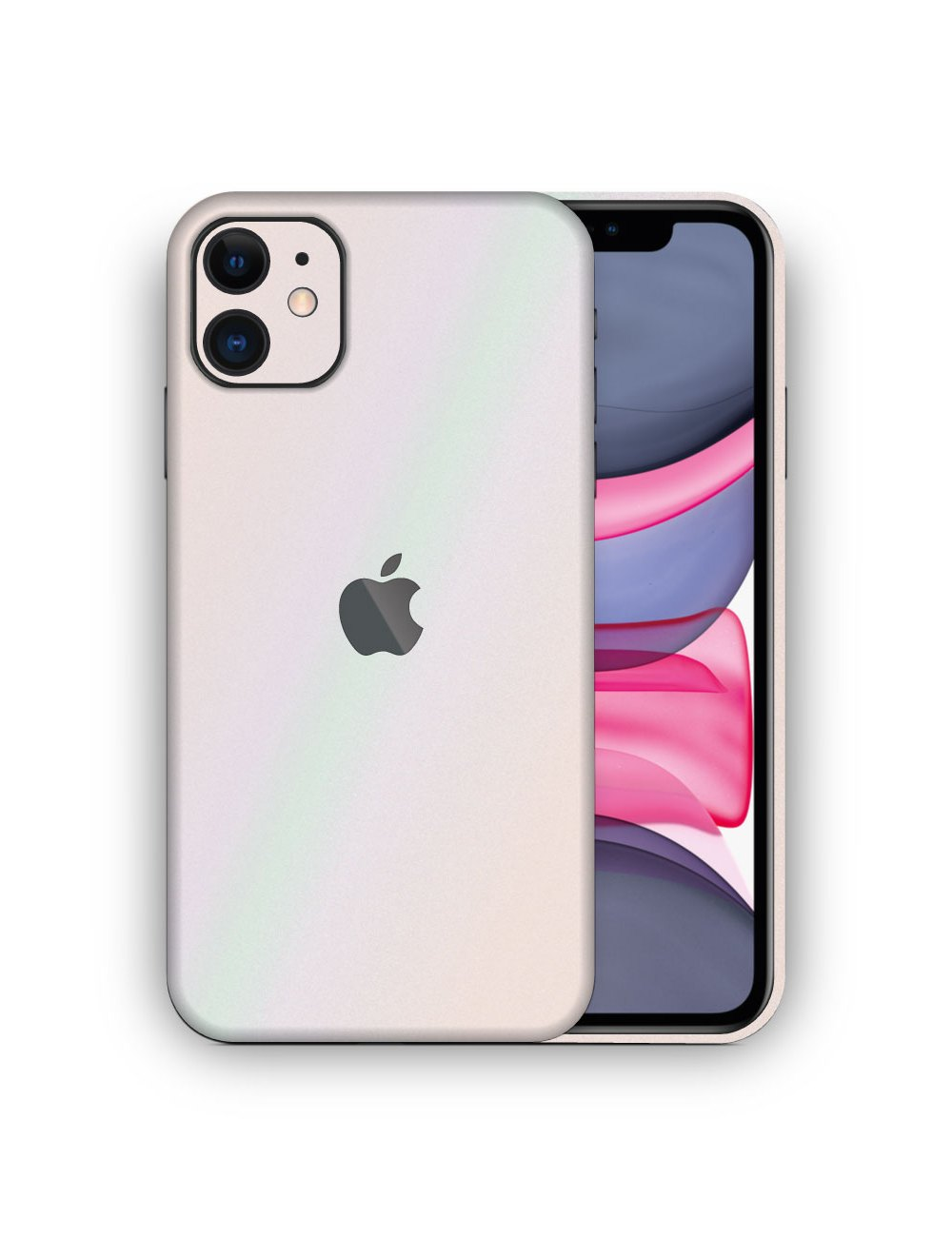 Apple iPhone 11 Metallic Pearl Vinyl Skin Wrap