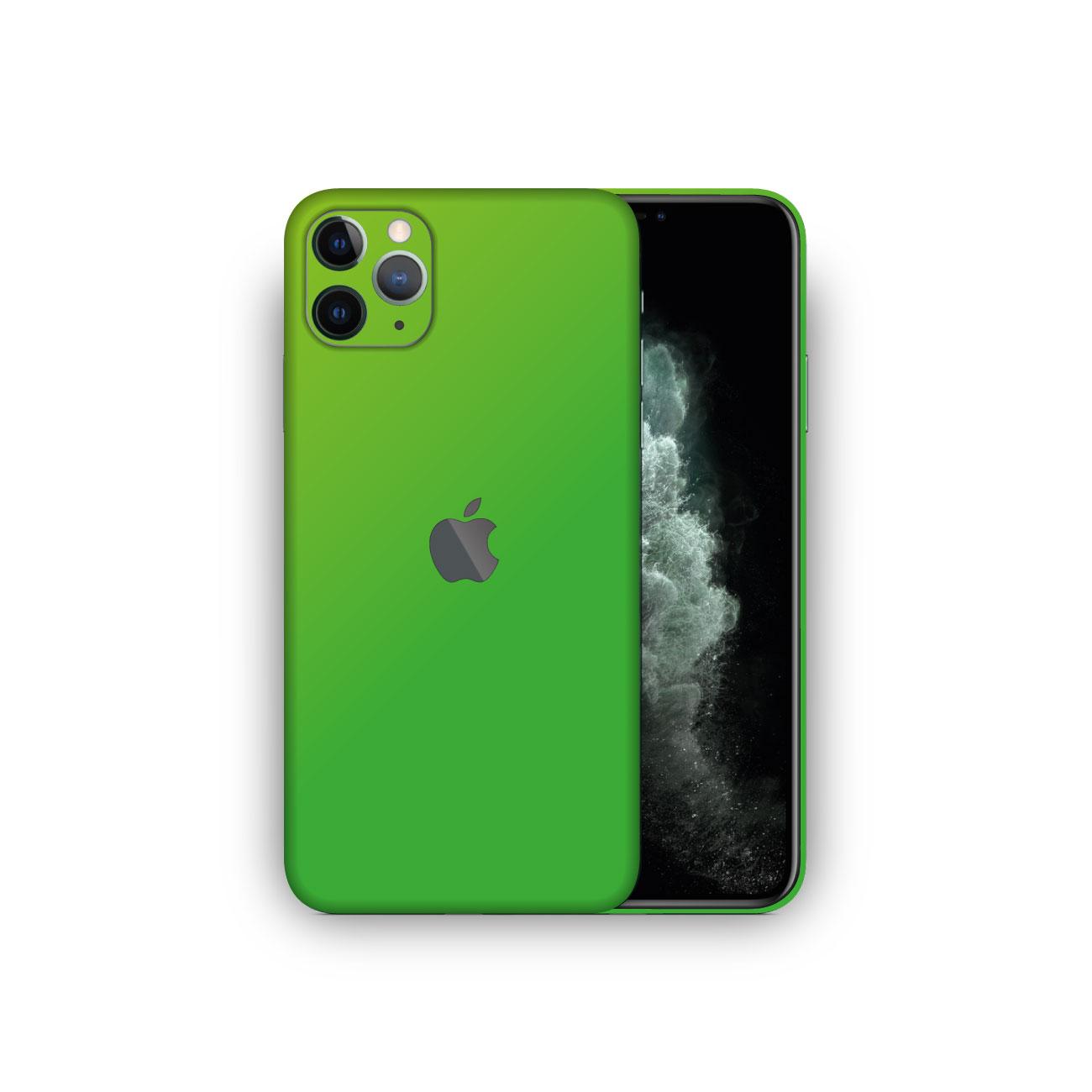 Apple iPhone 11 Pro MATTE GREEN Skin Vinyl Wrap