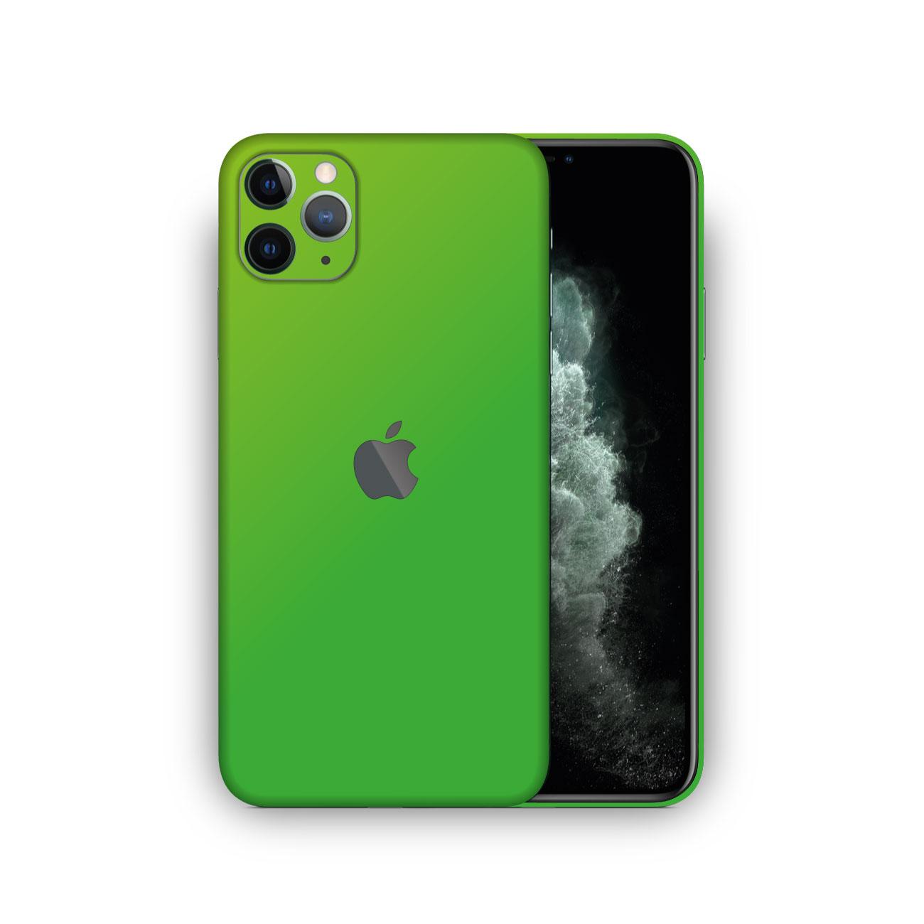 Apple iPhone 11 Pro Max MATTE Green Vinyl Skin Wrap