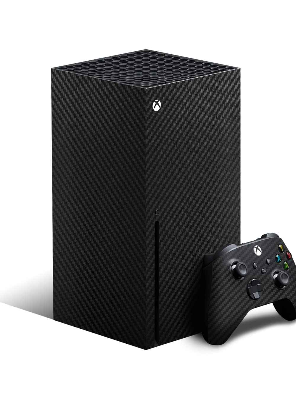 Xbox Series X Carbon Fibre Skin Wrap