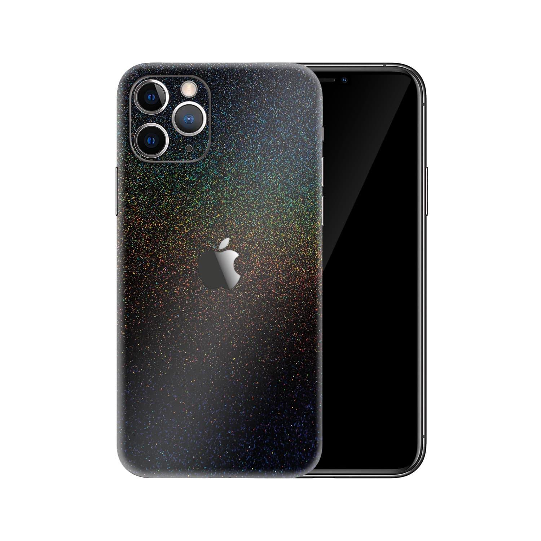 Apple iPhone 11 Pro Max Gloss Cosmic Morpheus Black Skin Wrap