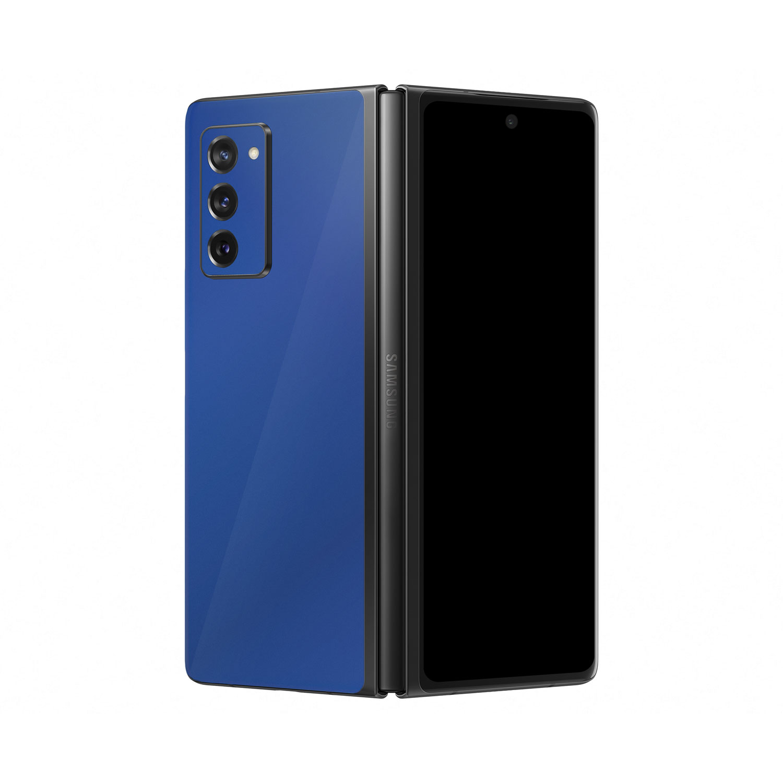 Gloss Royal Blue Vinyl Skin Wrap for Samsung Galaxy Z Fold2 5G