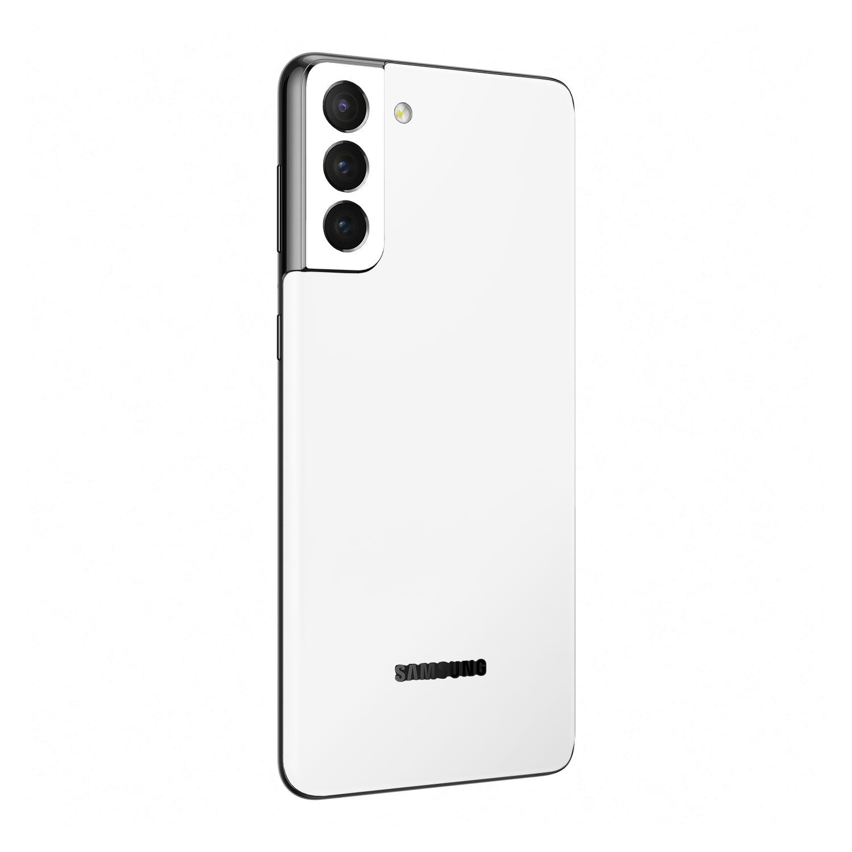 Matt white Vinyl Skin Wrap for Samsung Galaxy S21 Plus