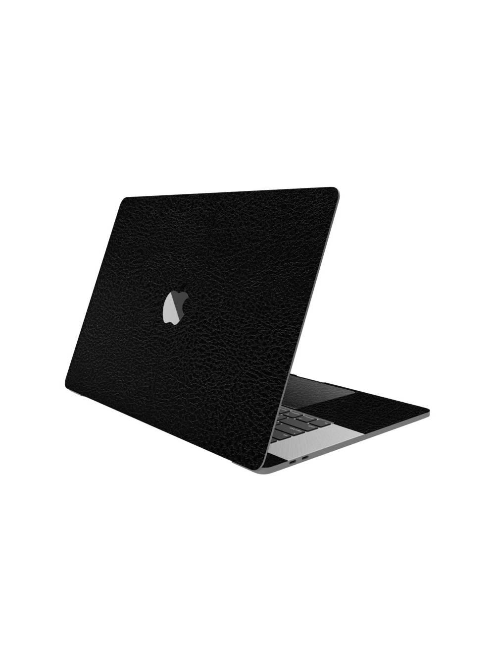 Black Leather Skin for Apple Macbook Pro M1 2020