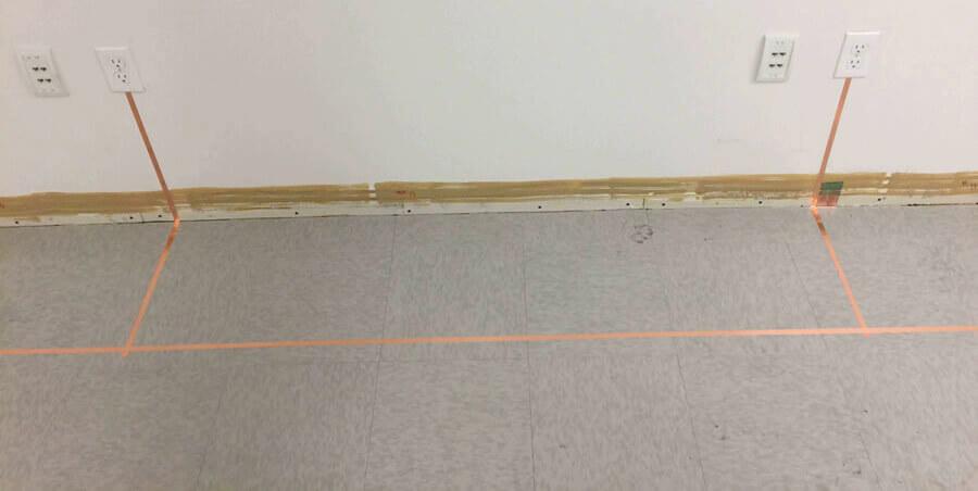 Grounding Interlocking ESD Tiles
