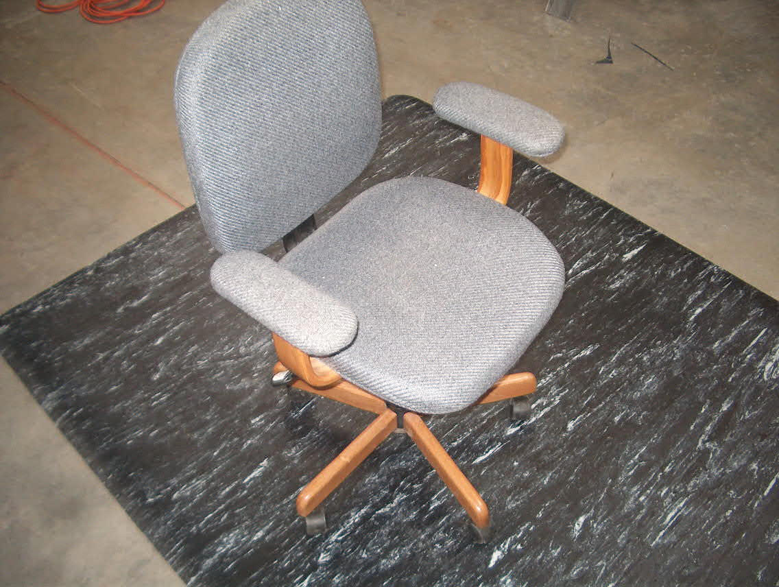 High Chair Floor Mat Mission Critical Esd Chair Matpowerful Static Control