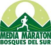 Logo Media Maratón Bosques del Sur