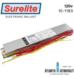10 1181a surelite electronic ballast [ 1000 x 1000 Pixel ]