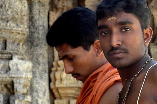 India Faces of Two Guys
