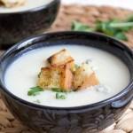 Zupa krem z kalafiora z serem gorgonzola