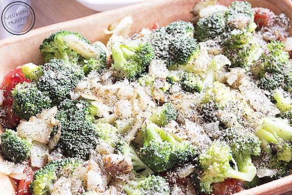 Zapiekanka ziemniaczana z cukinią i brokułami