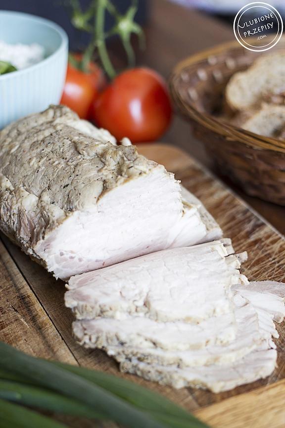Schab do kanapek gotowany