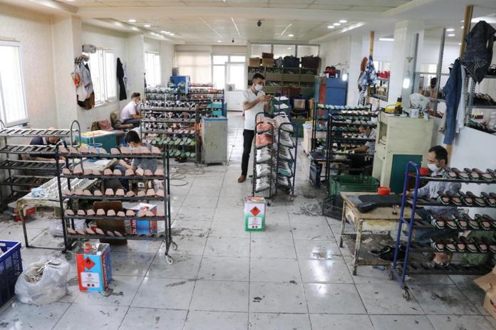 Ayakkabı sektörü 3 aylık aranın ardından yeniden mesaiye başladı