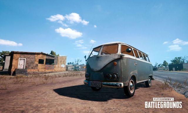 PlayerUnknown's Battlegrounds - Samba Bus
