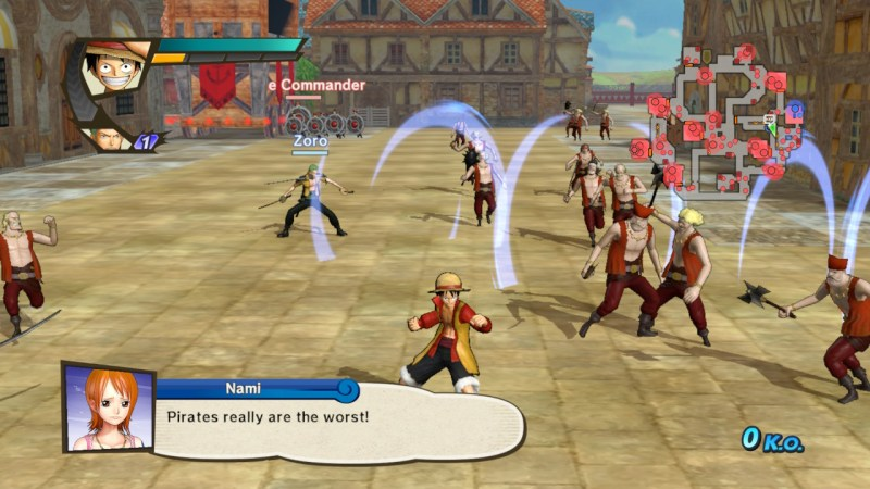 One Piece Pirate Warriors 3 - Luffy_Final_Battle_Z