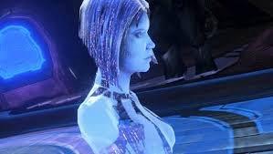 Cortana hologram halo