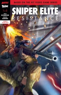Sniper Elite Comic 2