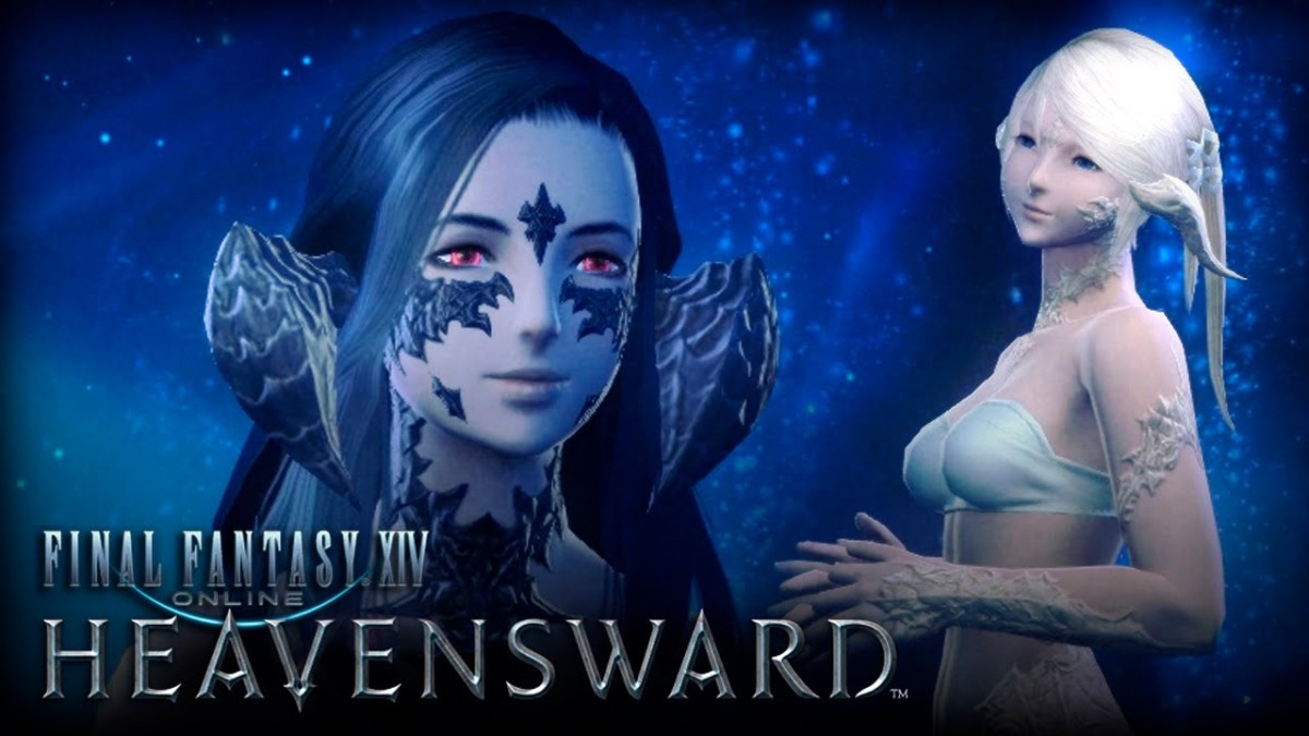 Au Ra Female character creation header