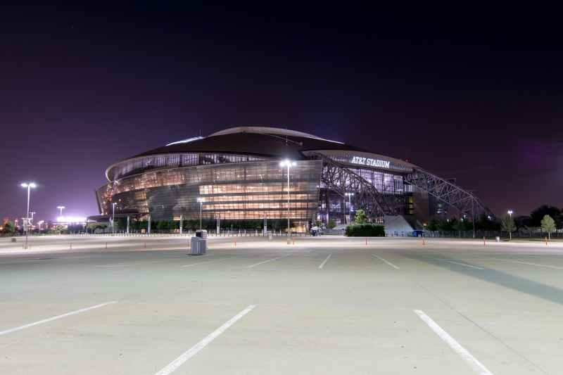 arena at t stadium building cowboys stadium