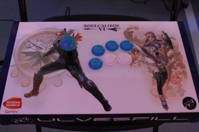 Custom Made Arcade Stick_Ulvespill