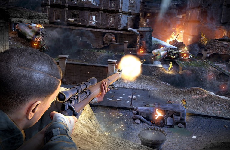 Sniper Elite V2 Remastered is launching soon