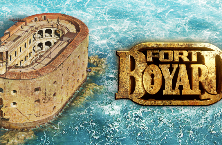 Experience the challenges of Fort Boyard for yourself!