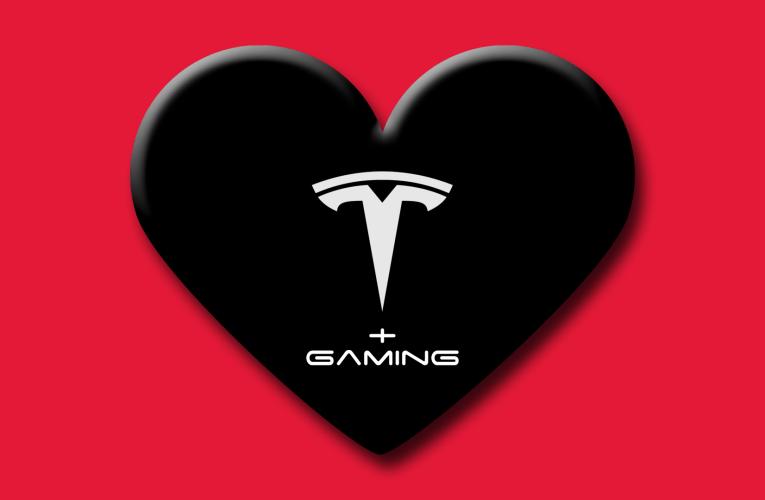 Tesla announces racing game
