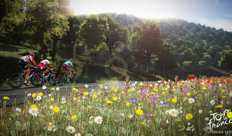 Tour the France 2019, get on your virtual bicycle.