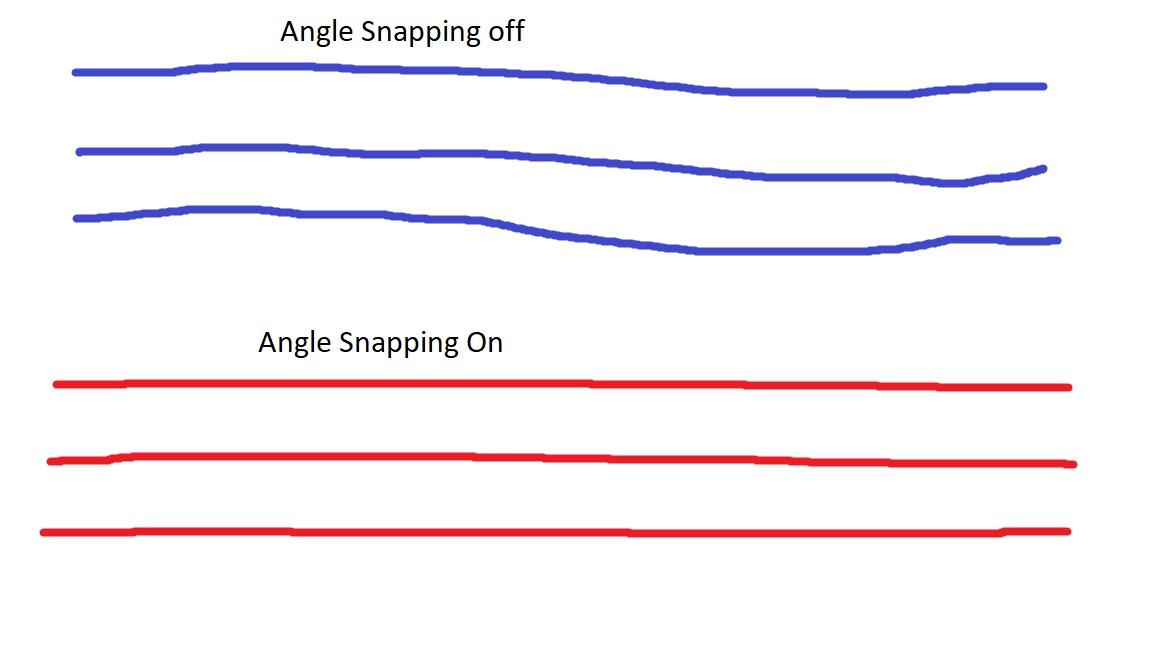 Angle Snapping