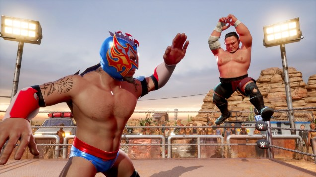 WWE 2K BG Kalisto vs Samoa Joe
