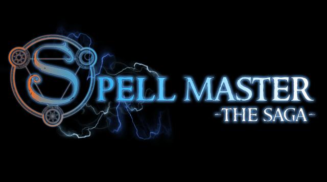 SpellMaster The Saga logo