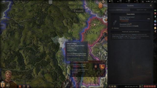 Crusader Kings III Factions