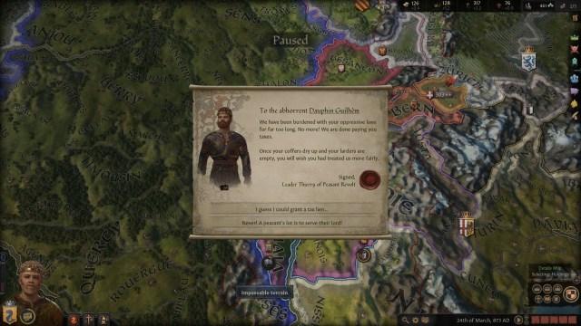 Crusader Kings III Letter