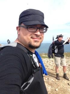 Mt. Eisenhower Summit Self-Portrait.