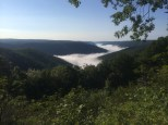 A view of the Pine Creek Gorge.