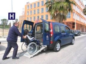 Ulysse transport de personnes handicapées