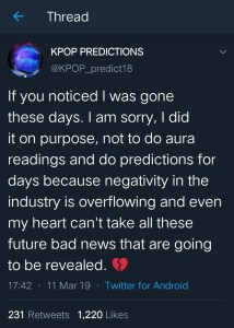 Seungri's Case Predicted By K-Pop Prediction Account A Month