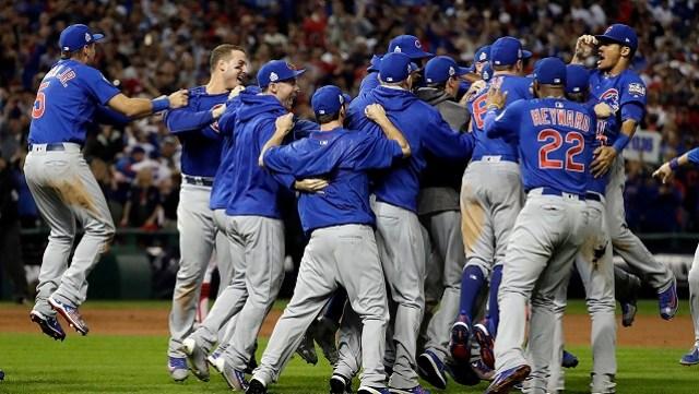 Después de 108 años los Cachorros conquistaron la Serie Mundial. Foto: Cortesía MLB