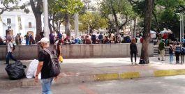 La bioseguridad se fue de vacaciones en el centro de Caracas